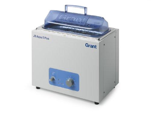 Grant Instruments JB Aqua Plus Series Analogue Unstirred Water Bath 335mm Width x 270mm Height x 215mm Depth 5L Capacity 120V 5 to 98 Degree C