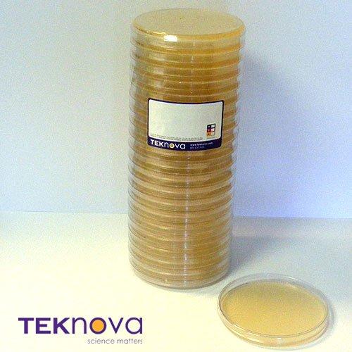 Teknova Mueller Hinton II Agar Plates 150mm 20 Plates per Sleeve Sterile