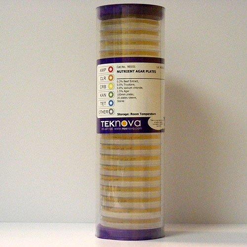 Teknova Nutrient Agar Plates 100mm Plates Sterile