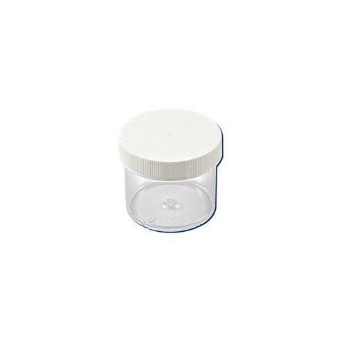 Dynalon 421245 32oz 120mm Polystyrene Jar with Cover