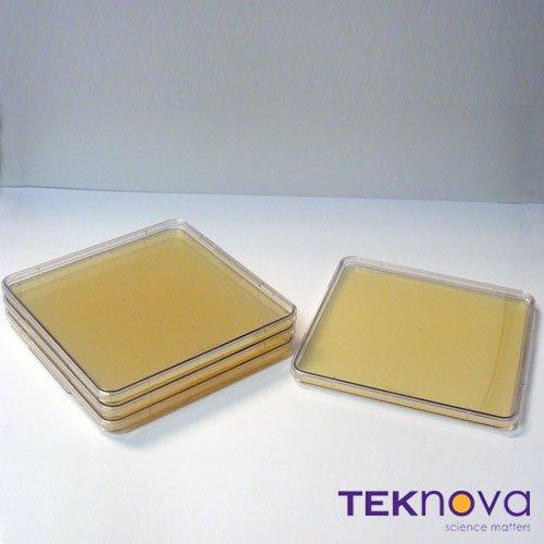 Teknova LB Agar Plates with Tetracycline-10 200mL Fill 245mm Q-Trays Sterile 4 Pack