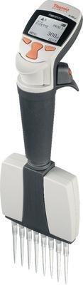 Thermo Scientific 4661000 Finnpipette F1 Variable Volume Multichannel Pipettor 8 Channels 1-10 microliter