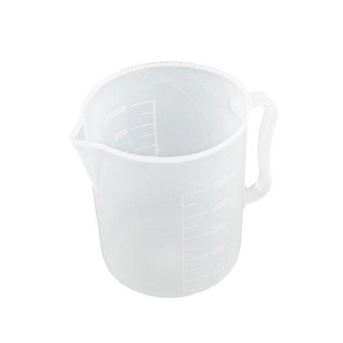 uxcell Kitchen Flour Sugar Liquid Measurement Beaker Measuring Cup Mug 500ml