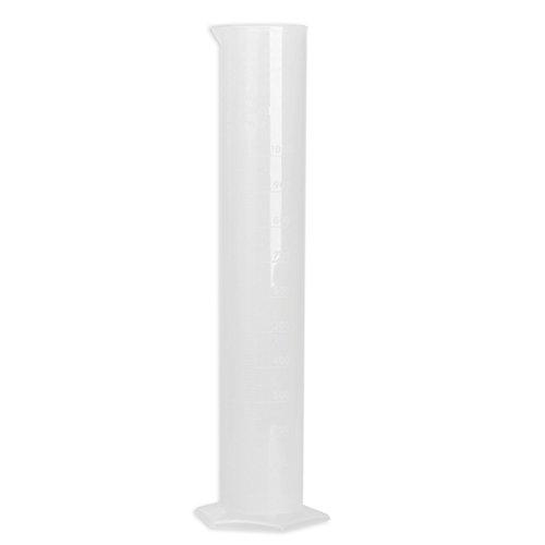 Vktech Plastic Measuring Cylinder Graduated Cylinder for Laboratory Test 1000ml