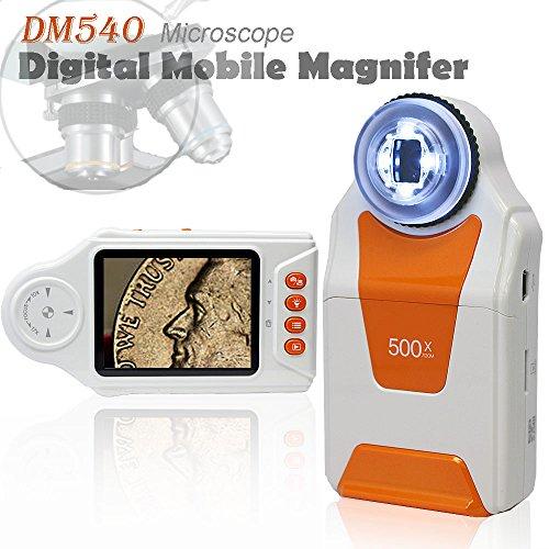 Indigi Digital Handheld Magnifier Microscope 500x ZOOM Camera Camcorder Mode