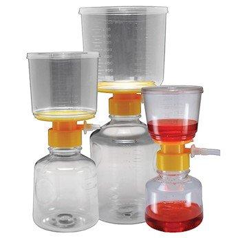 Argos Technologies Disposable Bottle Top Aspirator PVDF membrane 045um 250 mL 12CS