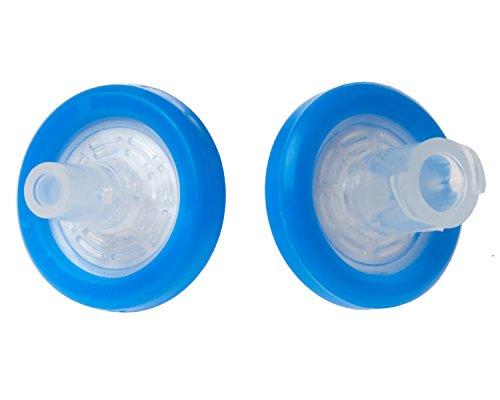 Celltreat 229744 Syringe Filter PVDF Membrane Sterile 045µm Port Size 13mm Diameter Blue Case of 75