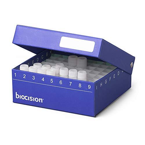 Biocision BCS-206B Blue TruCool Hinged Cryobox Pack of 5