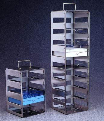 DS5037-0007 - Seven-Tier Rack - Nalgene CryoBox Racks Stainless Steel Thermo Scientific - Each