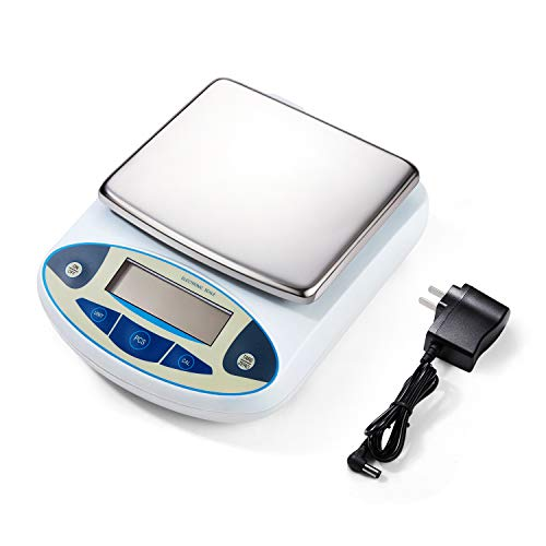 001 Gram Digital Lab Scale Analytical Balance Precision Scientific Laboratory Scale for Lab Chemical 5000 Gram Lab Scale