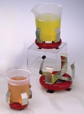 100 mL Beaker - SCIENCEWARE Weighted BeakerFlask Holders with Vikem Vinyl Coating Bel-Art