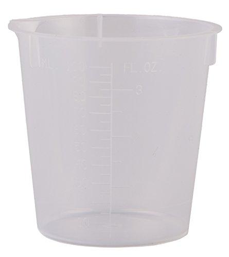 Consolidated Plastics 45374 Disposable Beaker Polypropylene 50 mL 100 Piece
