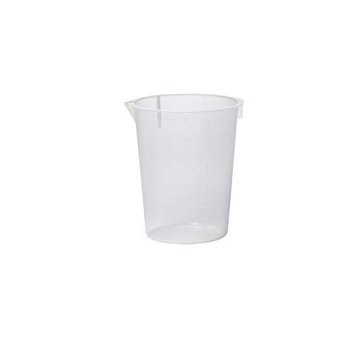 Disposable Beaker Polypropylene Capacity 250mL Graduation Subdivisions 10mL - 3UDJ6