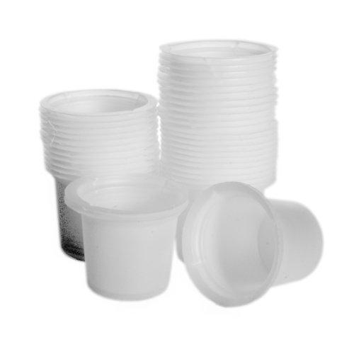 Dyn-A-Med 80095 Polystyrene Disposable Beaker 50mL Capacity Case of 500