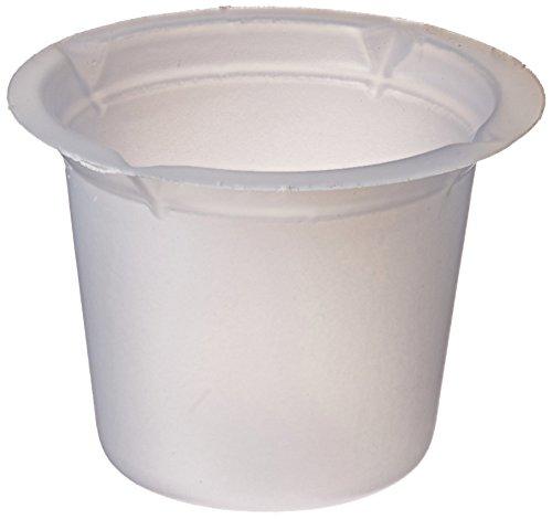 Eagle Thermoplastics B10-1000 Polystyrene Disposable Beaker 10mL Capacity Case of 1000