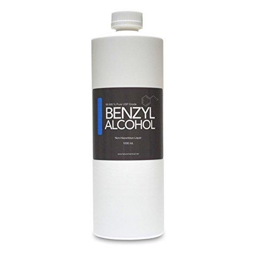 Benzyl Alcohol 1000 ML 32 OZ USP Grade in Sterile Plastic Bottle BPA FREE