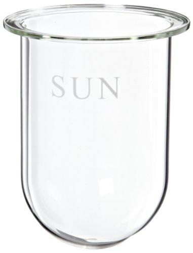 Sun Sri Clear Ungraduated Serialized Dissolution Vessel 1L Capacity
