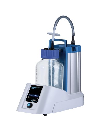 Labconco Vacuubrand 3850335 Biochem VacuuCenter BVC Control Liquid Aspirator Pump with 4 Liter Polypropylene Bottle 12 LPM 230V with India Plug