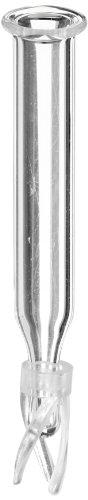 National Scientific Polyspring Insert Clear Glass 6mm Insert Diameter Volume 500µl Pack of 100