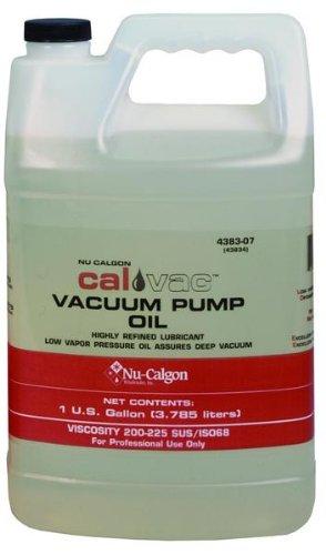 Nu-Calgon 4383-07 Vacuum Pump Oil 1 gal Bottle