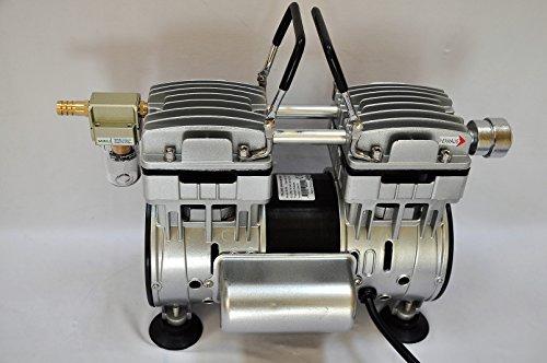 Twin Piston Oilless oilfree Vacuum Pump 55CFM Epoxy Resin Infusion Workshop BaggingMilker Pulsator Hookup