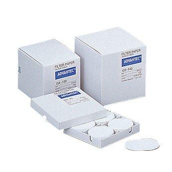 Advantec GA10047MM Grade GA100 GLASS Fiber Filters 47mm Dia 100Box GLASS Microfiber Pack of 100