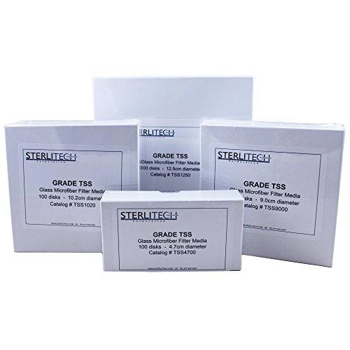 Sterlitech - Grade TSS Borosilicate Glass Fiber Filter 15um 47 mm Diameter 100pk - TSS4700