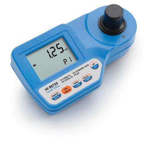 Hanna Instruments HI96725C Cyanuric Acid and pH Chlorine Portable Photometer Kit