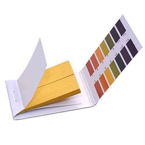 Ph 1-14 Test Paper Extensive Test Paper Litmus Test Paper Sonkir pH Test Strips,Test pH for Saliva Urine Water Soil Testing2-Pack pH Test Strips