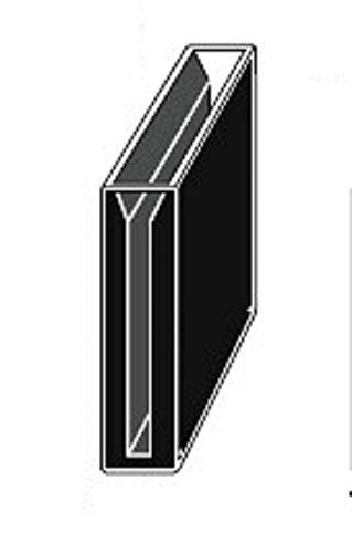 Micro Quartz Cuvette Black Wall 40mm Lightpath 42ml 3mm Slit Cuvettescell