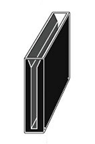Micro Quartz Cuvette Black Wall 50mm Lightpath 525ml 3mm Slit Cuvettescell