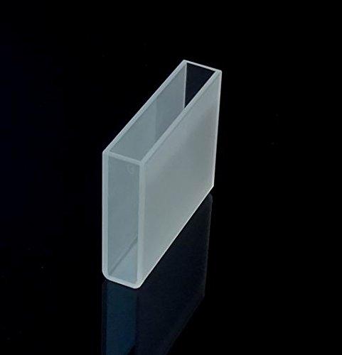 Optical Glass Cuvette 5cm 50mm spectrometer cell cuvettesLarge cuvetteCell