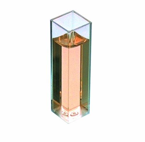 Thomas 202285 Methacrylate Fluorometry Cuvette Cell For Spectrofluorometer Pack of 100