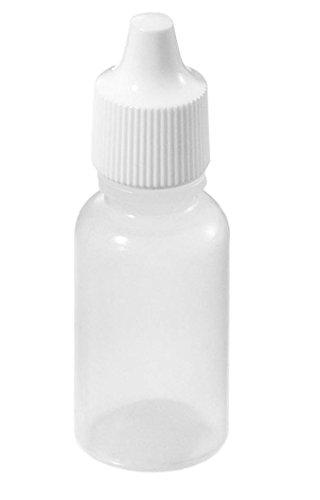 25PCS 30ML Empty Plastic Dropper Bottles Great for Solvents Light oils Paint Essence Electronic cigarettes Eye drops Saline etc