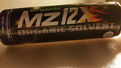 Organic Mz12X ORGANIC SOLVENT 3 Cans No CFCs
