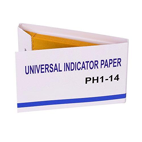 pH Test Strips 80 PCS BKlove Universal Indicator Paper pH 1-14 to Test Water Quality Soil Urine Saliva Cosmetics Alkaline Diabetic Diet