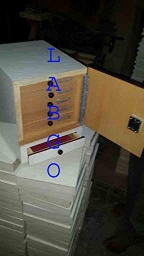 MG Scientific Slide Box Cabinet 500 Slide