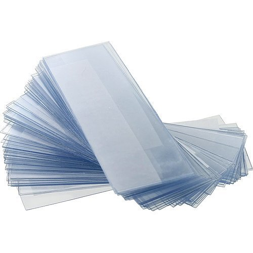 Plastic Microscope Slides - 100 pack