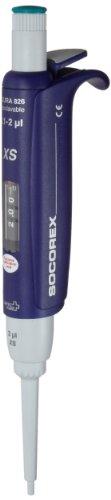 Wheaton W810304-XS Acura Manual 826 XS Single Channel Pipettor 1-10 microliter Volume 001 microliter Graduation