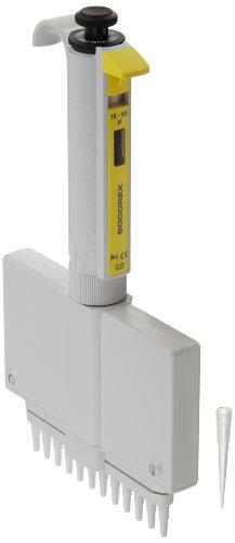 Wheaton Socorex 851184-2 Calibra Digital 852 12-Channel Micro Pipette 10 - 100 microliter For Use With 200 microliter Pipette Tip