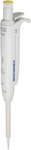 Wheaton Socorex 851206 Acura Manual 815 Fixed Volume Pipette 10 microliter Volume For Use With 200 microliter Wheaton Pipette Tip