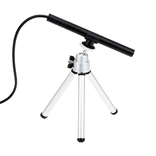 KKmoon 200X Portable Mini USB Digital Microscope Endoscope Magnifier Camera 5MP 4LED HD Manual Focus with Tripod