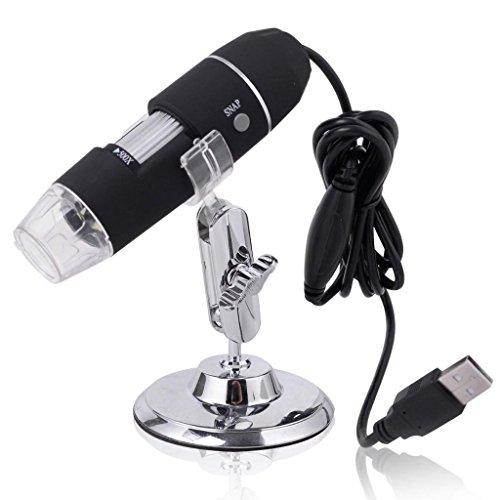 50-500X USB 2MP 8 LED Light Digital Microscope Endoscope Video Camera Magnifier