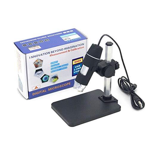 Pandamama 50X-200X Digital Microscope Endoscope Magnifier Camera Digital Microscope Practical Camera Microscope Endoscope Magnifier
