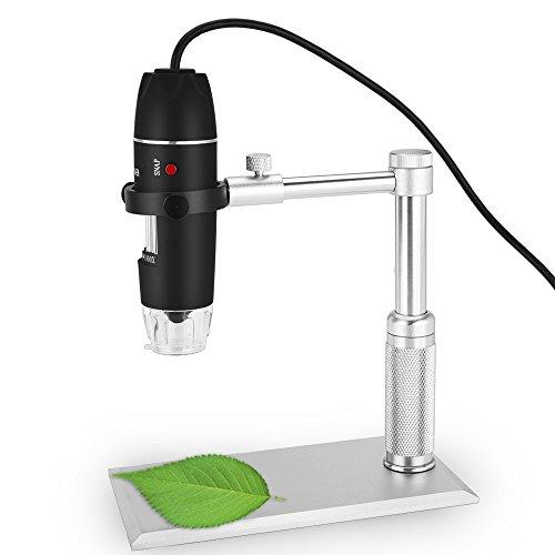 Crenova UM012C USB Digital Microscope 5MP Video Microscope 300X Magnifier Camera for Windows XPVISTA WIN7 Mac OSX