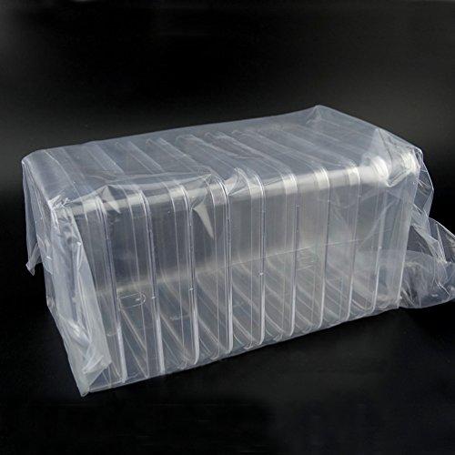 BIPEE Polystyrene Petri Dish Sterile Pack of 10 Square PetriDish13x13