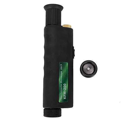 CL Series Fiber Scope Handheld Optical Fiber Microscope Inspection Mini 200X 400x Magnification 25mm Adaptor