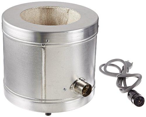 Glas-Col 100B TM576 Series TM Aluminum Housed Resin Reaction Flask Mantle 2000ml Flask Capacity 550 Maximum Flask Diameter 115V