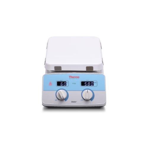 Cimarec Ceramic Top Hotplate Stirrer 10 x 10 230V 5060Hz UK plug