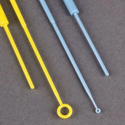 Inoculation Loop Flexible 1uL Calibration Certificate STERILE PS Blue 10Zip Lock Bag 100 BagsUnit